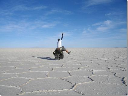 南米(ボリビア)ウユニ塩湖_